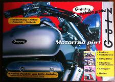 Catalogue Moto Allemand GOTZ-Katalog 1998: Enduro, Motocross, Chopper, Roller
