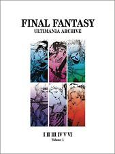 Final Fantasy Ultimania Archive Volume 1 Hardcover Art Book Square Enix New Mint