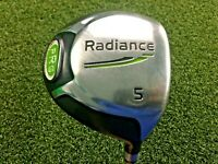 Radience PRG 5 Wood / RH / UST Competition 75 Series Stiff Graphite / gw0994