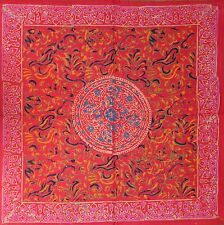 Hand Block Print Sanganer Floral Mandala Napkins Table Linen Cotton Beautiful