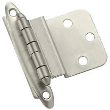 6 Pk Amerock Satin Nickel Non Self-Closing Cabinet Door Hinge 2/Pk Bp3417-G10