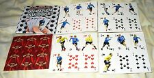 UNCUT 36 CARDS DECK ESTONIAN FOOTBALL PLAYING CARDS - SOCCER IS BETTER THAN SEX