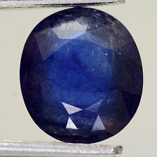 5,06 cts, SAPHIR NATUREL   ( pierres précieuses / fines  )