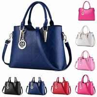 Fashion Womens Large Leather Handbag Ladies Tote Messenger Satchel Shoulder Bag