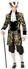 VENEZIANO Cappotto Oro Brillante - uomo Carnevale Travestimento Costume