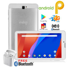 "NEW!!! 7"" Android 9.0 QuadCore Tablet PC 4G Wireless SmartPhone Free Bluetooth"
