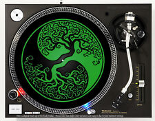YIN YANG TREE OF LIFE - DJ SLIPMAT 1200's or any turntable, record player