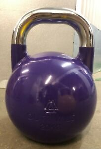 Kettlebell Competition Steel 20kg Gym Home Fitness Training Heavy Weights