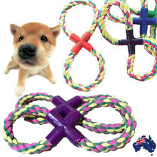 Pet Puppy Dog Supplies Eight Cotton Rope Toys Chew knot Play Toy Weave PROPE0801