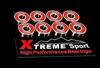 Xtreme ABEC 11 608 RS SWISS Zr02 CERAMIC HYBRID BEARINGS SKATEBOARD RATED UK