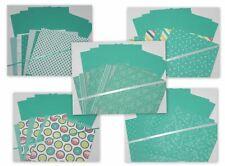 BERMUDA BAY PRINTS PATTERNS 5 SETS 6X6 DESIGNER PAPER CARDSTOCK STAMPIN UP