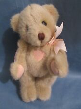 "1994 Dakin Cherished Teddies Priscillia Hillman 8"" Jointed Teddy Bear Tyler"