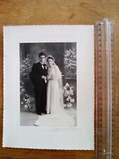 ancienne PHOTO mariage couple studio les rosiers sur loire