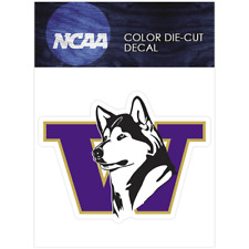 Washington Huskies Primary Logo1995-2000 Logo NCAA DieCut Vinyl Car Decal Bumper