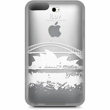 iLuv ICC606SYD Clear Hard Case w/Sydney City Graphics for iPod Touch 3rd Gen,NEW
