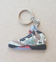Jordan 5 Retro Supreme Desert Camo Shoe/Sneaker Keychain