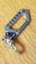 Titanium Drone, Droid 58 Carabiner, EDC Keychain,  Key Ring