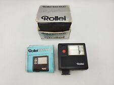 Rollei 100 XLC Compact Flash Unit w/ Box & Instructions - works