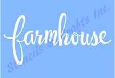 FARMHOUSE STENCIL WORD TEMPLATE PAINT FARM CRAFT ART COLOR CANVA PATTERN #2 NEW