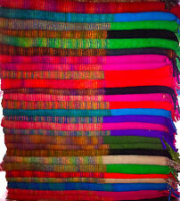 Blanket Shawl Multicolored Tibet Yak Wool 100% Hand Made. Mantas Lana de Yak.
