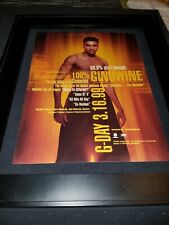 Ginuwine What's So Different? Rare Original Radio Promo Poster Ad Framed!