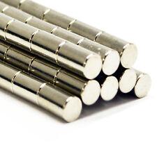 40pcs Very Strong Rod 5mm x 10mm Neodymium Cylinder Disc Magnet N35 Grade