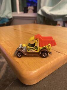1977 Hot Wheels A Truckin' Dumpin' A Truck Yellow Ford Model A Hong Kong