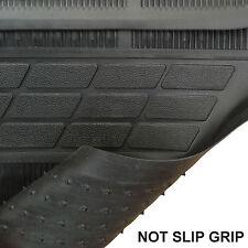 Black Rubber Universal Floor Mat Set