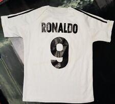 Maillot jersey maglia camiseta trikot shirt real madrid  ronaldo 14 ans xS