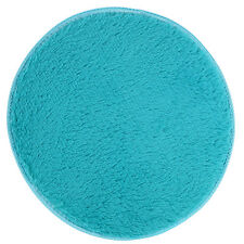 New Fluffy Area Rugs Shaggy Room Bedroom Carpet Round Floor Door Mats