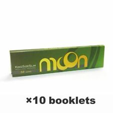 NEW 10 booklets Moon Hemp Rolling Papers 108*45mm King Size Slim 320 leaves