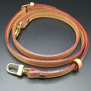 Natural Vachetta Adjustable Shoulder Strap Replacement For Louis Vuitton Honey