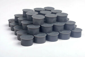 Pool Fence Hole Cover Deck Patio Ground Caps Grey