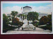 POSTCARD USA OHIO COLUMBUS STATE CAPITOL & MCKINLEY MEMORIAL