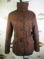 E7771 VTG BURBERRY LONDON Plaid Lined Quilted Jacket Size M