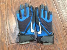 Nike Youth All Purpose Receiver Running Back Gloves Black Gf0083-407 S small