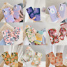 For iPhone 11 Pro Max XS XR 8 7 SE 2020 Liquid Silicone Case Pastel Print Cover