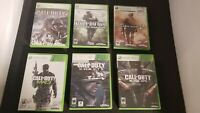 Xbox 360 - Call of Duty Bundle - Shooter Bundle- 6 Different Call of Duty Games