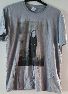 **Studio Ghibli** No Face, Spirited Away, T-shirt, Xl