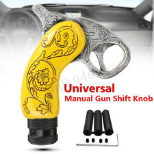 Universal Gun Pistol Hand Grip Trigger Manual Car Gear Stick Shift Knob Shifter