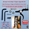 SAVAGE AXIS EDGE STAINLESS STEEL TRIGGER UPGRADE KIT WITH SHIMS & LUBE GREASE