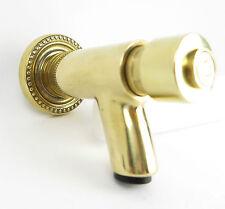 Wasserhahn Messing gold golden Druckknopf Antik Jugendstil Gotik gold golden