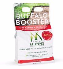Munns 1.5kg BUFFALO BOOSTER Turf Starter Fertiliser with Organic Wetting Agent