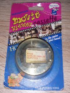 Movie Viewer Cassette charlie chaplin slapstick vintage