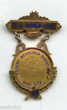 Conlins Gallery New York  Revolver Shooting Gold Medal To P J Donahue 1889