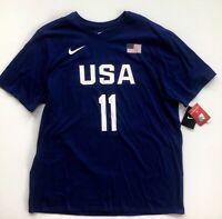 USA Basketball Klay Thompson 2016 Rio Olympics Nike Player T-Shirt 2XL Warriors