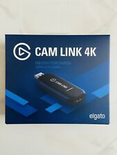 Elgato Cam Link 4K Capture Device HD Recording / Streaming NEW