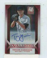TAYLOR GARRISON 2013 Panini Elite Extra Edition Rookie Auto Autograph #D /639