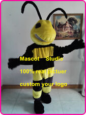 Bee Hornet Mascot Costume Suit Cosplay Party Game Dress Outfit Halloween Adult