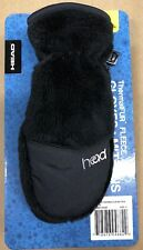 Toddler Head Jr. ThermalFur Fleece Mittens - Black - Size S Ages 5-6